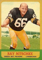 Ray Nitschke Cards, Rookie Card and Autographed Memorabilia Guide
