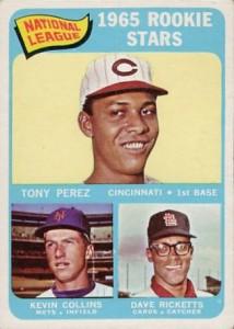 1965 Topps Tony Perez RC