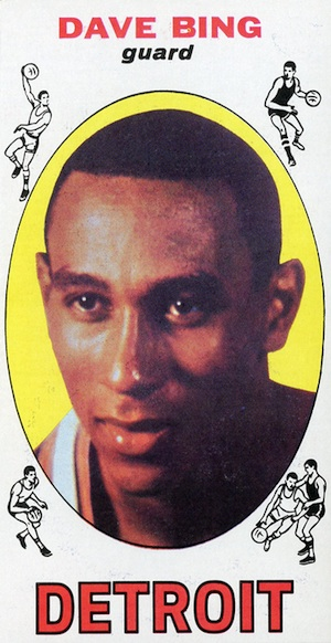 1969-70 Topps Dave Bing RC