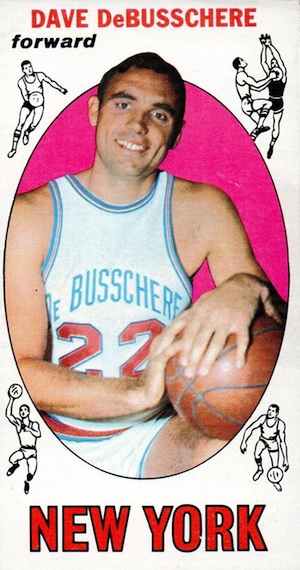 Top 20 Budget Hall of Fame Basketball Rookie Cards of the 1950s & 1960s 19