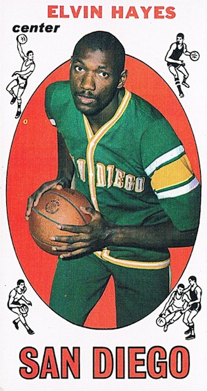 1969-70 Topps Elvin Hayes RC