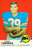 Larry Csonka Cards, Rookie Card and Autographed Memorabilia Guide