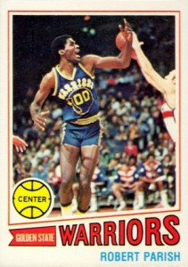 1977-78 Topps Robert Parish RC