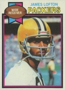 1979 Topps Football James Lofton RC