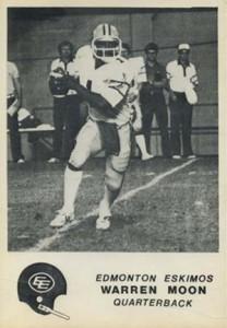 1981 Jogo Warren Moon