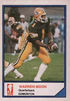 Warren Moon Cards, Rookie Cards and Autographed Memorabilia Guide