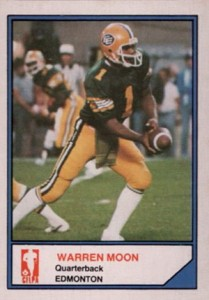1983 Jogo CFL Limited Warren Moon