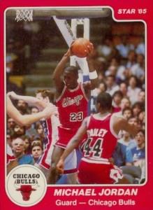 1984-85 Star Company Michael Jordan #101