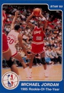 1984-85 Star Company Michael Jordan #288 ROY