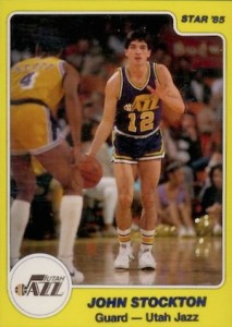 1984-85 Star John Stockton #235