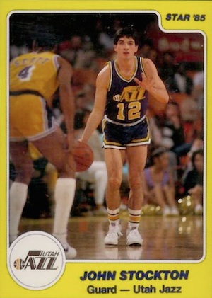 John Stockton Rookie Cards and Autographed Memorabilia Guide 2