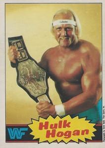 1985 O-Pee-Chee WWF Pro Wrestling Stars 1 Hulk Hogan