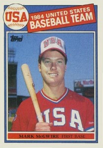 1985 Topps Baseball Mark McGwire RC #401