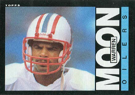 1985 Topps Warren Moon RC