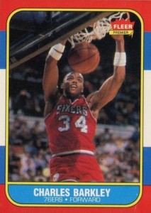 1986-87 Fleer Charles Barkley RC #7
