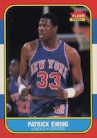 Patrick Ewing Cards and Memorabilia Guide