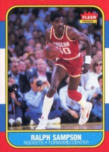 1986-87 Fleer Ralph Sampson RC #97