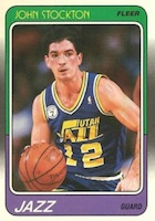 John Stockton Rookie Cards and Autographed Memorabilia Guide