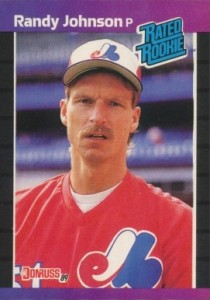 Randy Johnson Cards, Rookie Cards and Autographed Memorabilia Guide 1