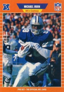 Michael Irvin Cards, Rookie Cards and Autographed Memorabilia Guide 1