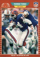 Thurman Thomas Cards, Rookie Cards and Autographed Memorabilia Guide