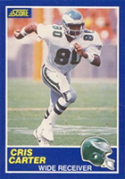 Cris Carter Cards, Rookie Cards and Autographed Memorabilia Guide