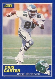 Cris Carter Cards, Rookie Cards and Autographed Memorabilia Guide 2