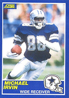 Michael Irvin Cards, Rookie Cards and Autographed Memorabilia Guide