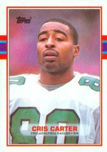 Cris Carter Cards, Rookie Cards and Autographed Memorabilia Guide 3