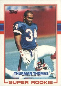 1989 Topps Thurman Thomas RC