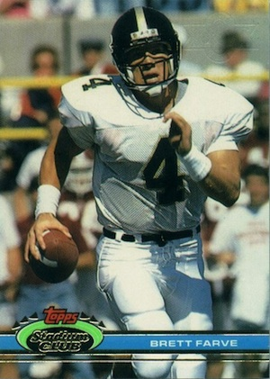 Full Brett Favre Rookie Cards Checklist and Key Early Cards 1