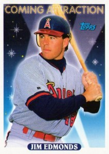 1993 Topps Jim Edmonds RC