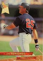 Jim Edmonds Cards, Rookie Cards and Autographed Memorabilia Guide