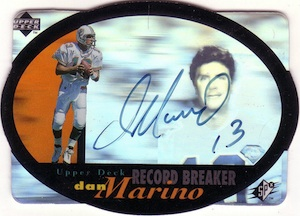 Dan The Man! Guide to the Top Ten Dan Marino Cards  7