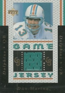 1996 Upper Deck Game Jerseys Dan Marino #GJ1