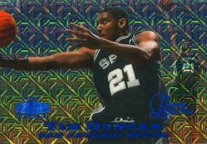 1997-98 Flair Showcase Legacy Collection Tim Duncan Row 0