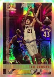 1997-98 Topps Chrome Refractor Tim Duncan