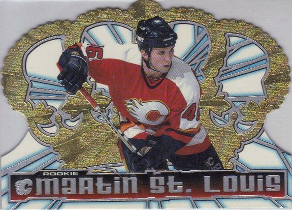 1998-99 Pacific Crown Royale Martin St Louis RC