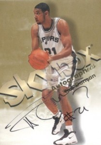 The Big Fundamental Retires! Top 10 Tim Duncan Cards of All-Time 13