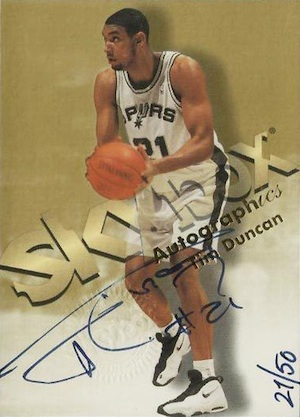 Top 10 Tim Duncan Cards of All-Time 14
