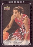 Joakim Noah Cards and Autographed Memorabilia Guide