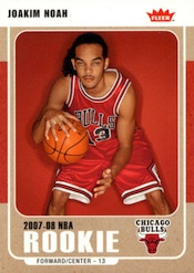 2007-08 Fleer #222 Joakim Noah RC