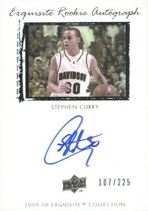 Top 10 Stephen Curry Rookie Cards 10