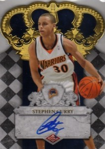 2009-10 Panini Crown Royale Stephen Curry RC #103 Autograph