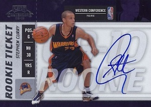 2009-10 Playoff Contenders Stephen Curry RC #106 Autograph