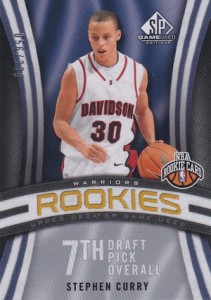 2009-10 SP Game Used Stephen Curry RC #133