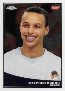 2009-10 Topps Chrome Stephen Curry RC #101