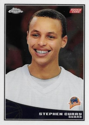 Top 10 Stephen Curry Rookie Cards 2