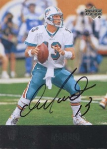 2009 Ultimate Collection 1997 UD Legends Update Dan Marino