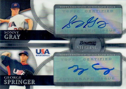 Top George Springer Prospect Cards 5